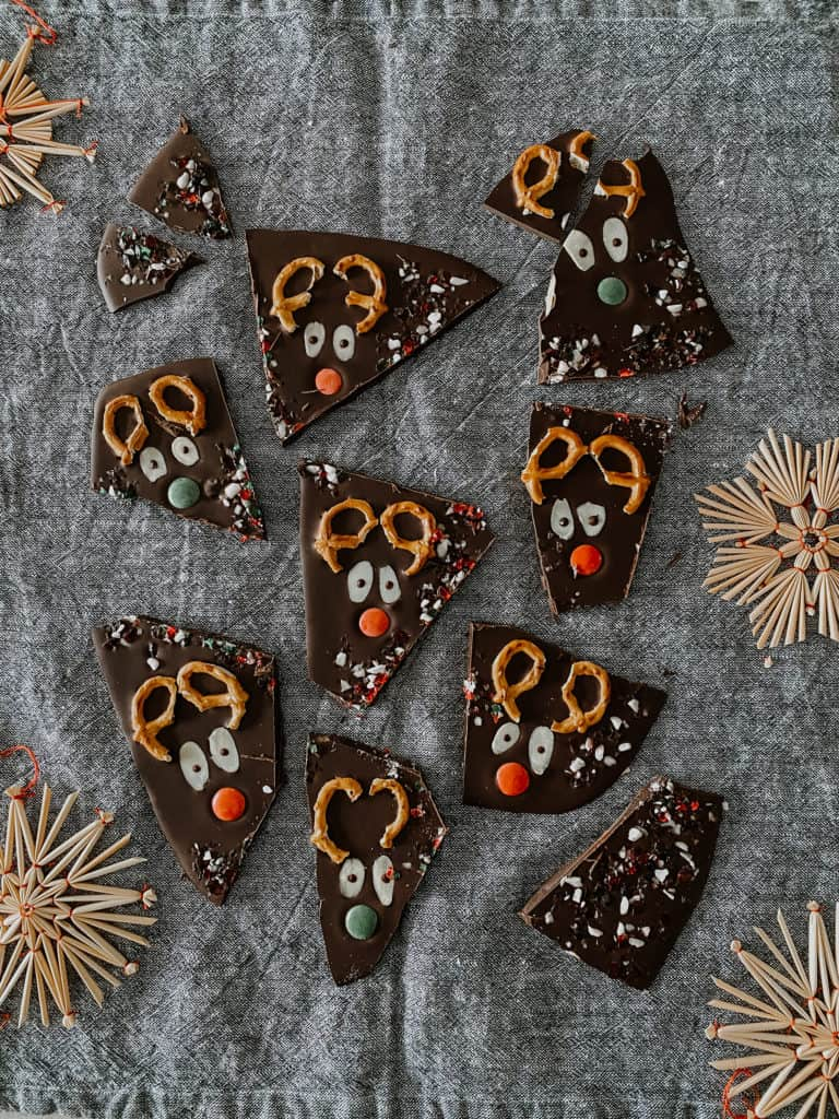 Reindeer Bark Chocolate