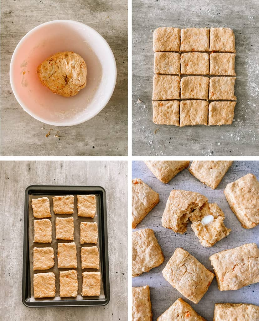 Sweet potato biscuits steps to make