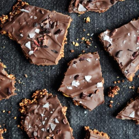Chocolate Quinoa Bark