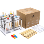 stainless steel popsicle mold kit