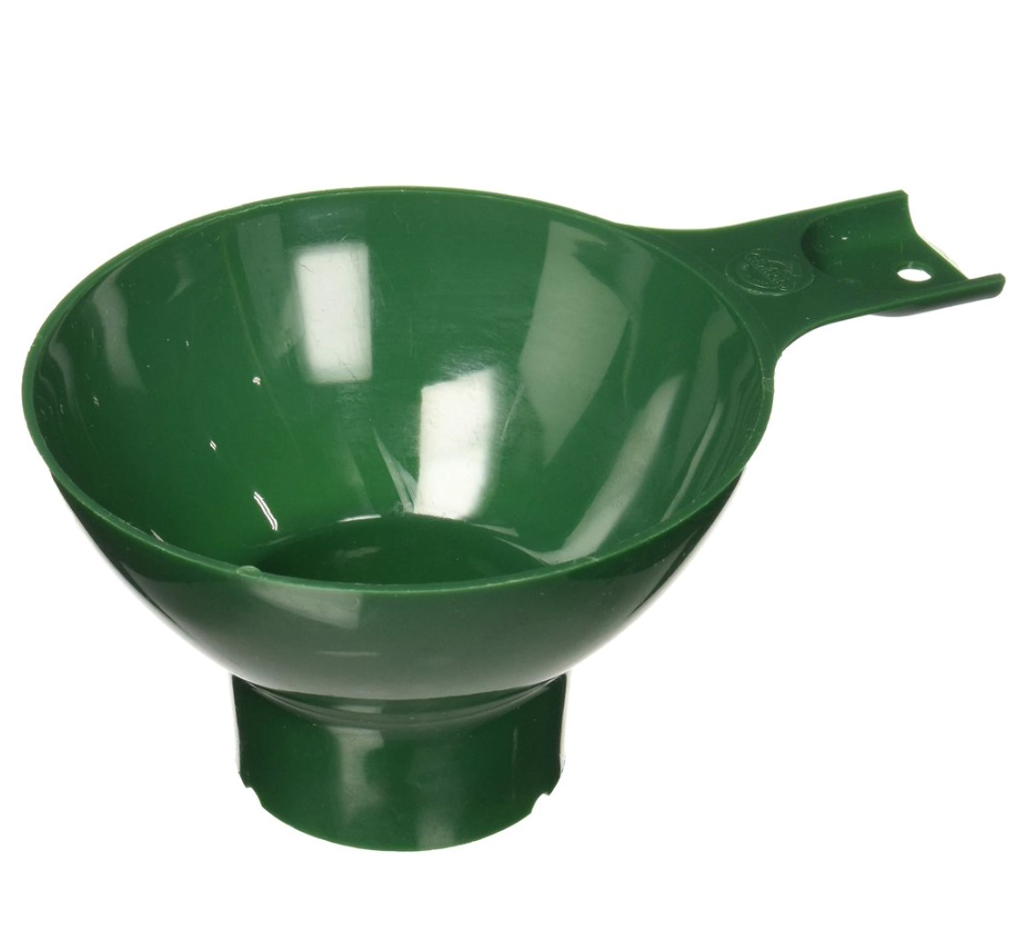 green canning funnel
