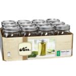 wide mouth mason jars