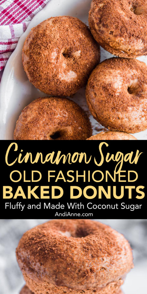 ried donut, these ones are baked in a donut pan for an easy homemade treat. See just how easy these donuts are to make below.